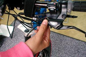 ワイヤー式ブレーキの簡単な調整法